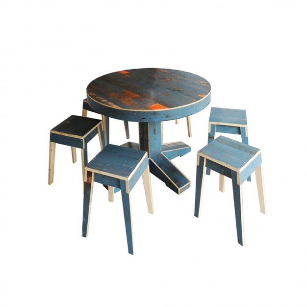 Canteen Table Complete Set