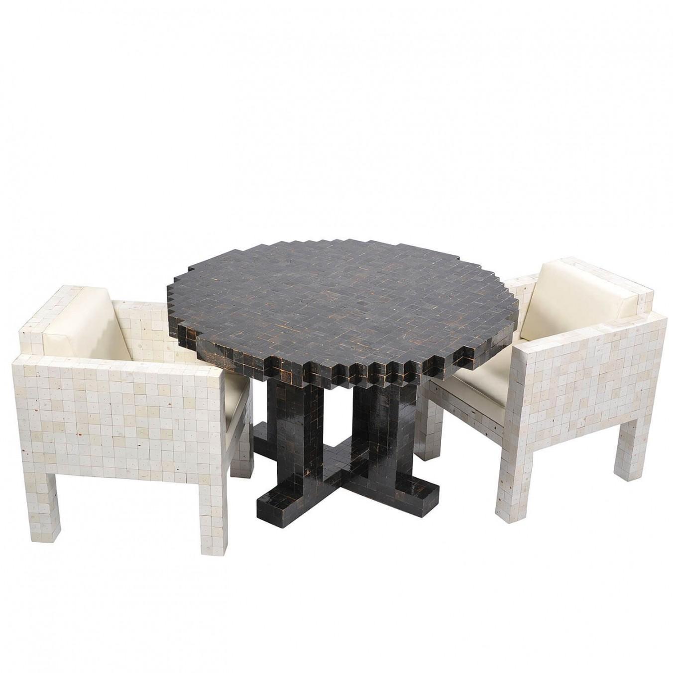 Waste waste table round