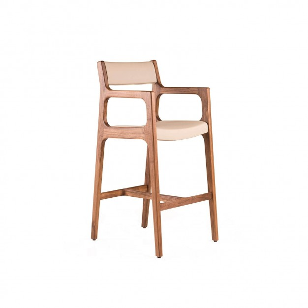 DEER BREAKFAST BAR STOOL WITH ARMS