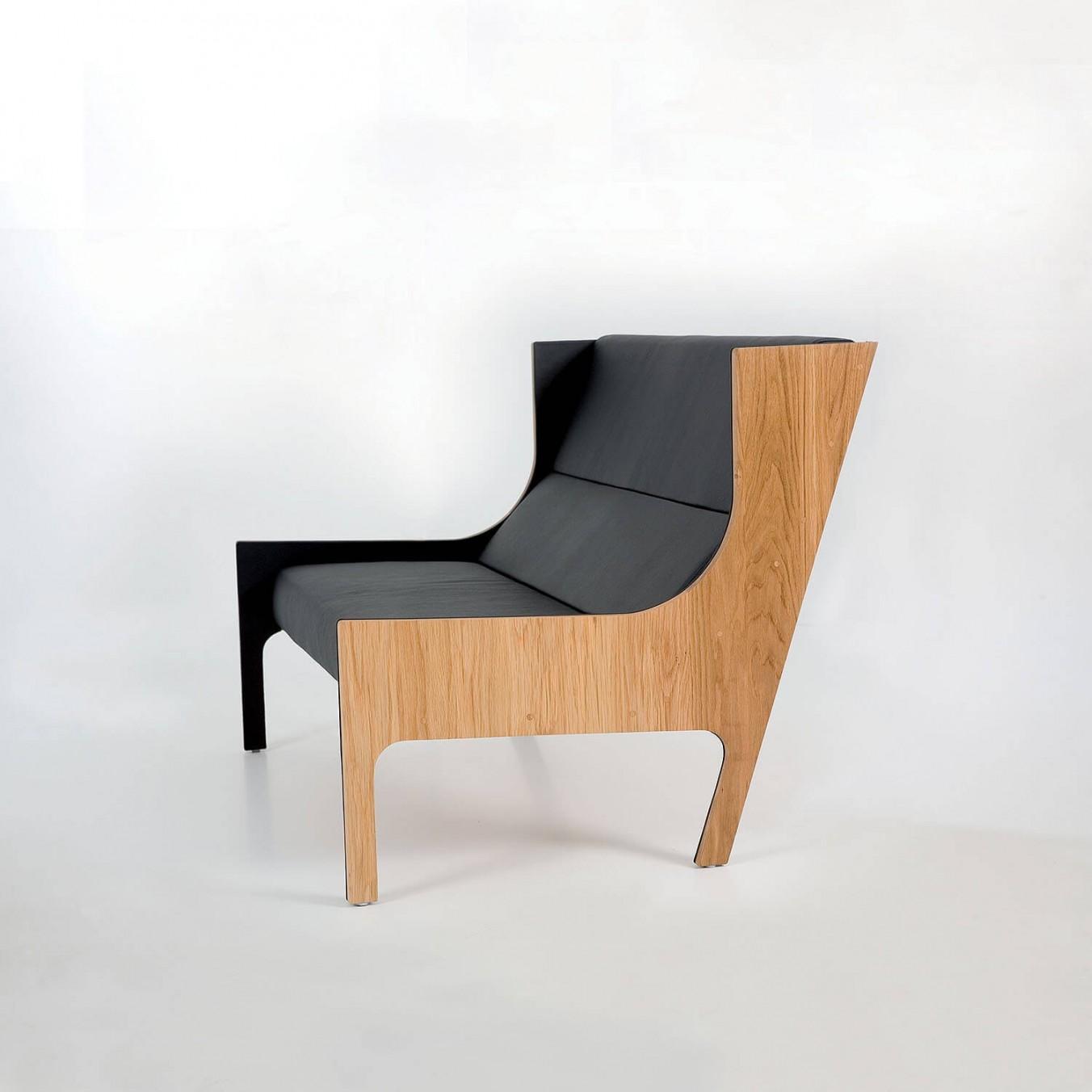 Bergère sofa