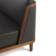 THRONE SOFA WITH UPHOLSTERY