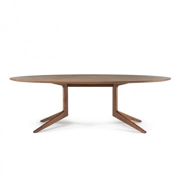 LIGHT OVAL TABLE
