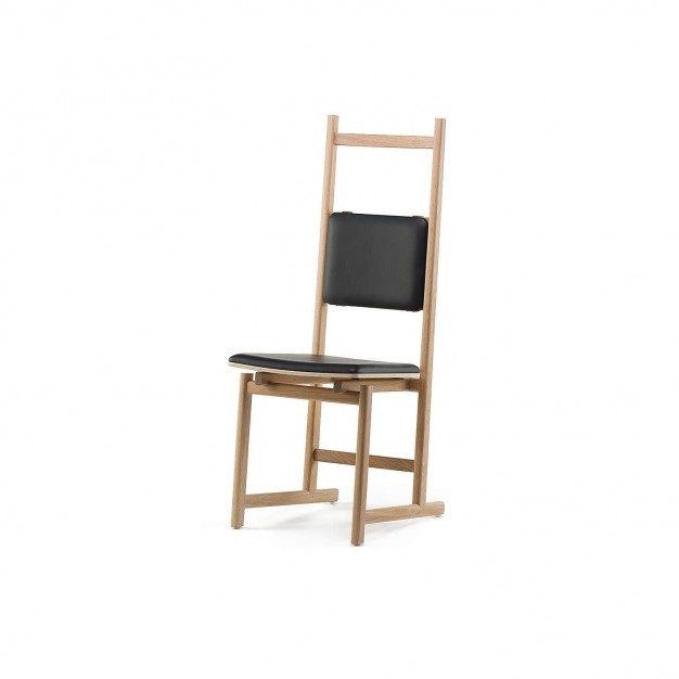 SHAKER DINING CHAIR - UPHOLSTERED SEAT