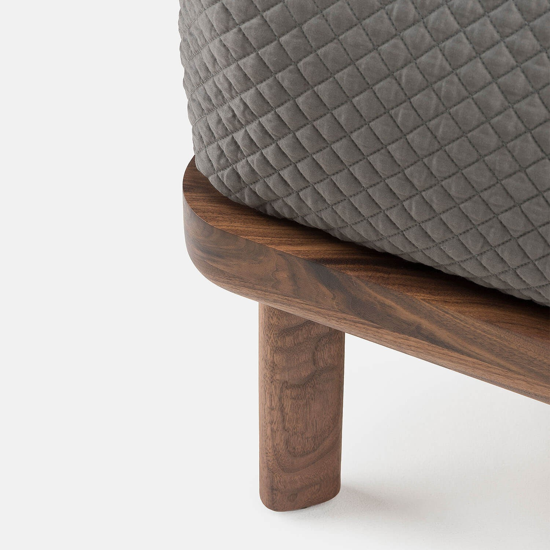 Atelier Du Bois Monaco low dubois bed | no bedsides | kooku