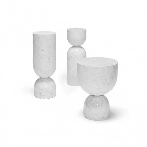 Time Piece - Carrara Marble