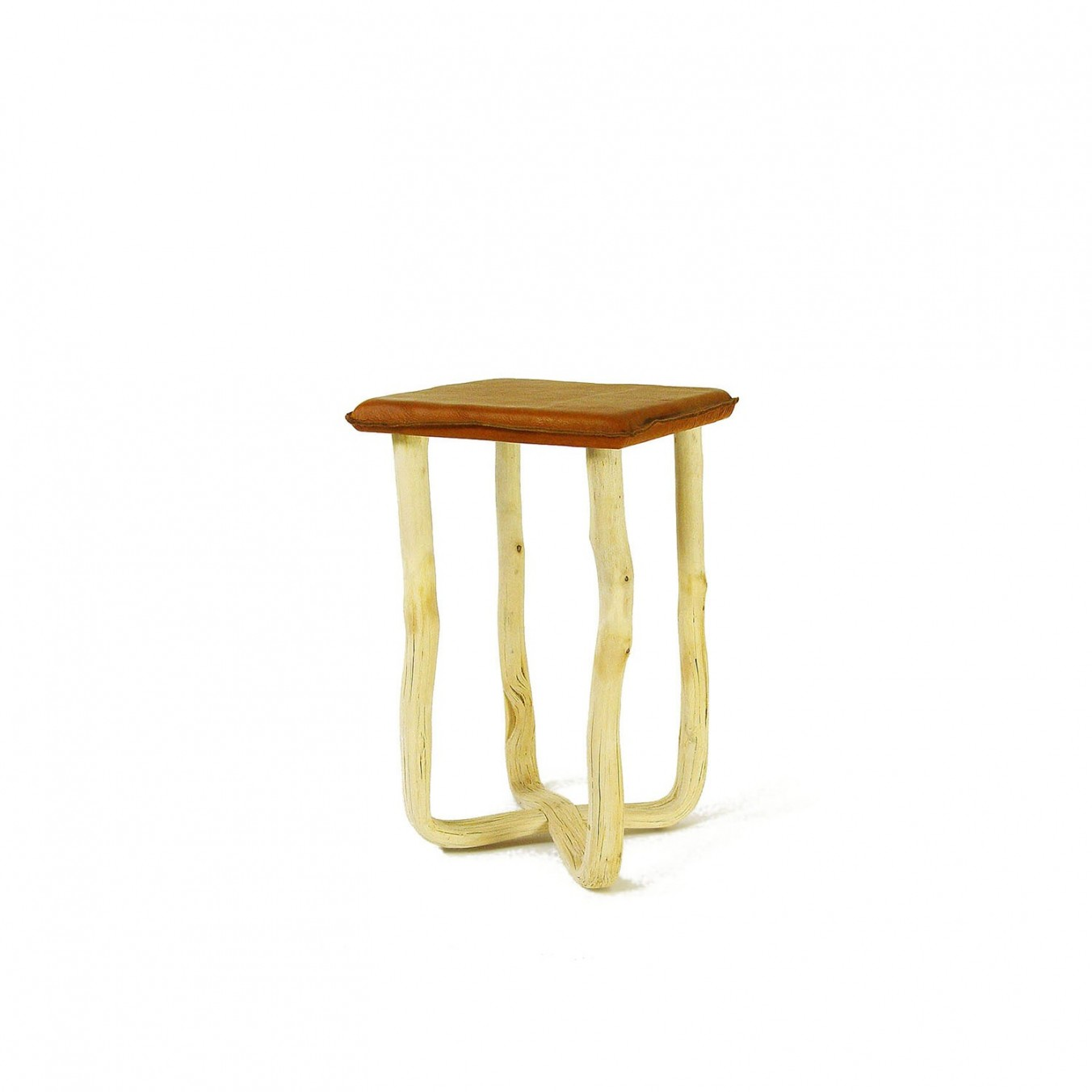Admirable Pressed Wood Natural Stool Kooku Machost Co Dining Chair Design Ideas Machostcouk