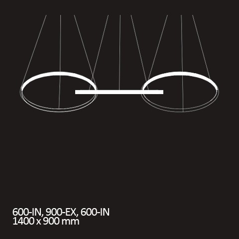 Triplet: 600-IN / 900-EX / 600-IN