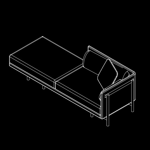 Medium daybed right hand