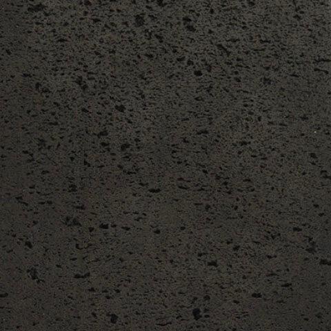 Black volcanic stone