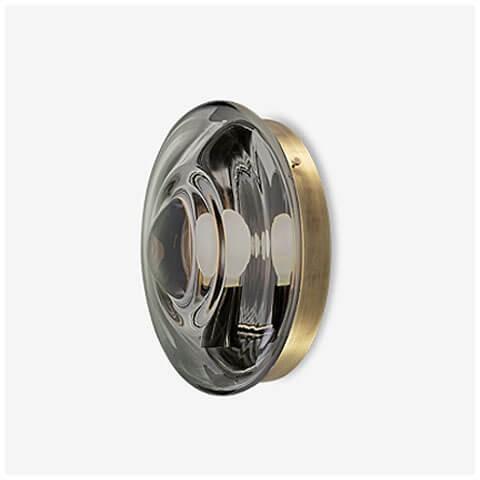 mercury black / light patina brass
