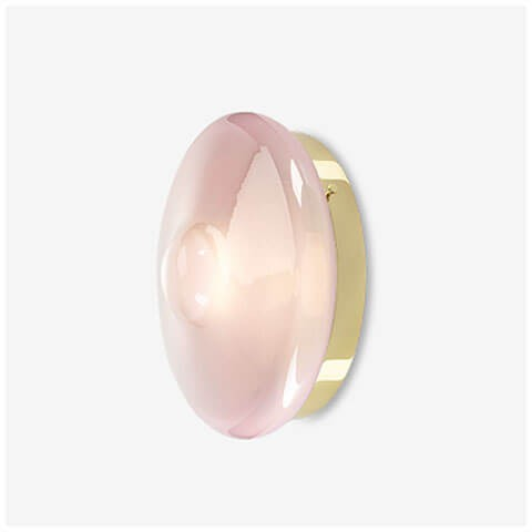 venus pink / polished brass