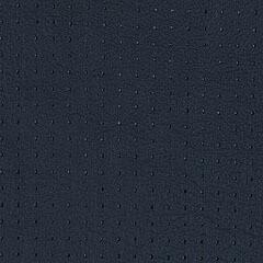 Perforated leather Marine Blue