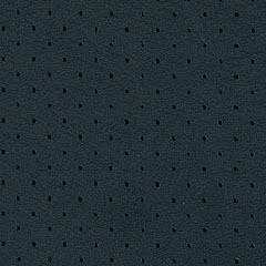 Perforated leather Petrol Green