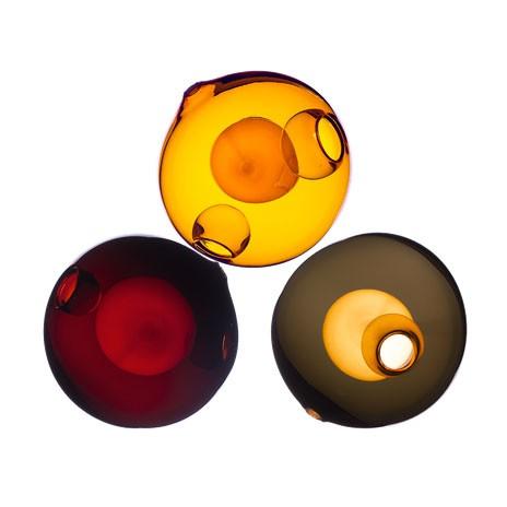 Amber / Oxblood / Charcoal